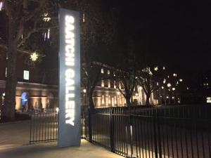 ロンドン20日目、学校14日目 Saatchi Galleryへ